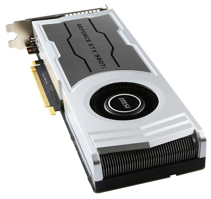 Компоненты 3D-карты MSI GeForce GTX 980 Ti V1 работают на рекомендованных частотах