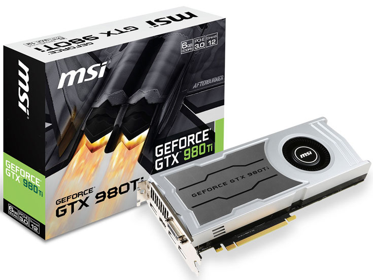 Ассортимент MSI пополнила 3D-карта GeForce GTX 980 Ti V1