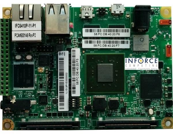 Одноплатный ПК Inforce 6410Plus предназначен для разработчиков роботов, дронов и носимой электроники - 1