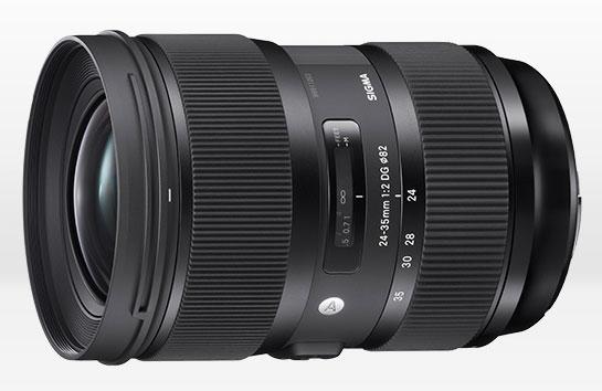 Сроки начала продаж и цену Sigma 24-35mm F2 DG HSM Art производитель обещает назвать позже