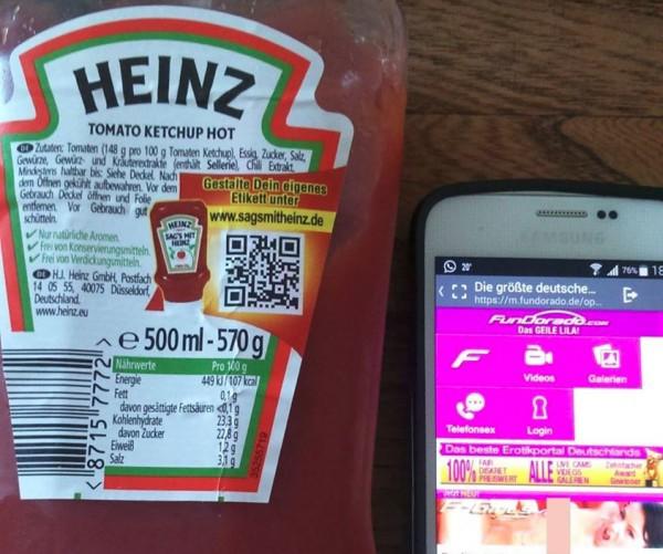 Кетчуп Heinz отправлял покупателей на порносайт (забыли продлить домен) - 1