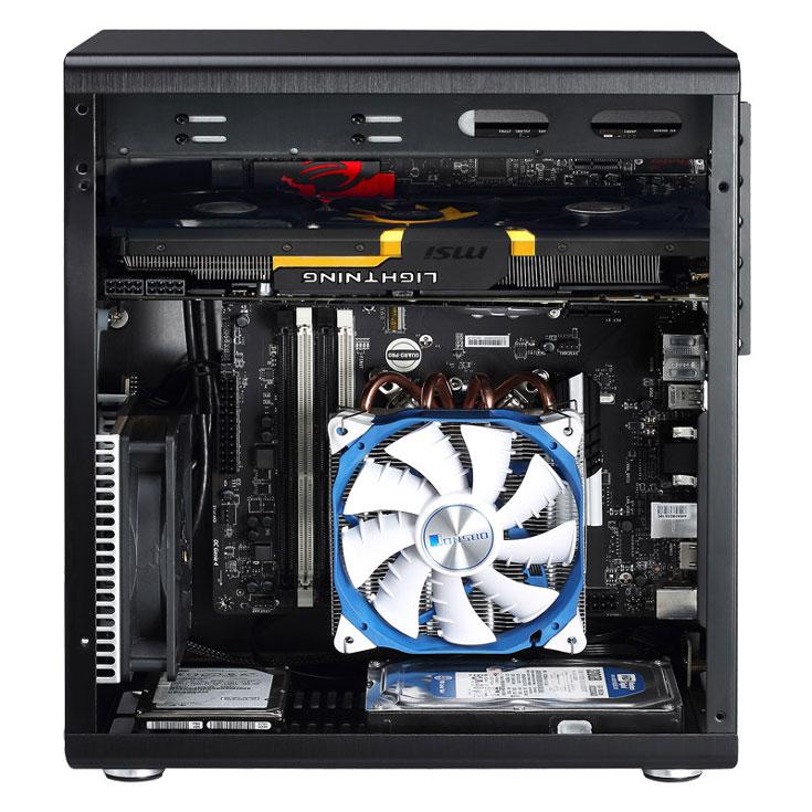 Компьютерный корпус RM1 представлен под маркой Jonsbo - powered by Cooltek