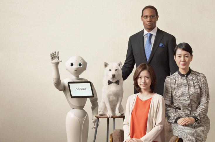 SoftBank также планирует выпустить вариант робота для делового применения, который называется Pepper for Biz