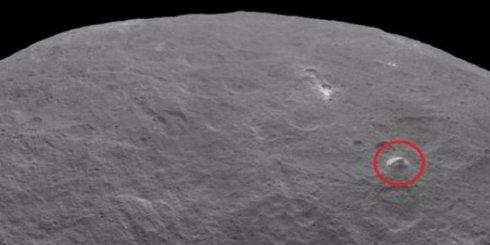 Гигантскую пирамиду обнаружили на карликовой Церере
