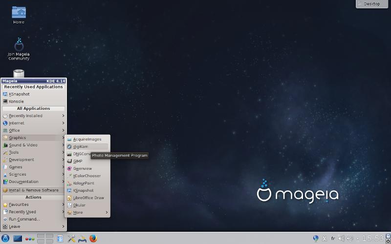 Выпуск дистрибутива Mageia 5 - 2