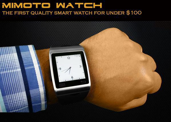 Mimoto Watch — смарт часы за 98 $, которые надо ждать в июле на Kickstarter - 2