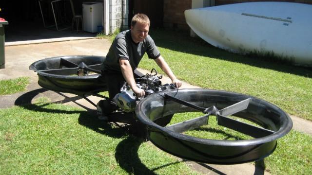 Летающий мотоцикл делают для армии США - 3