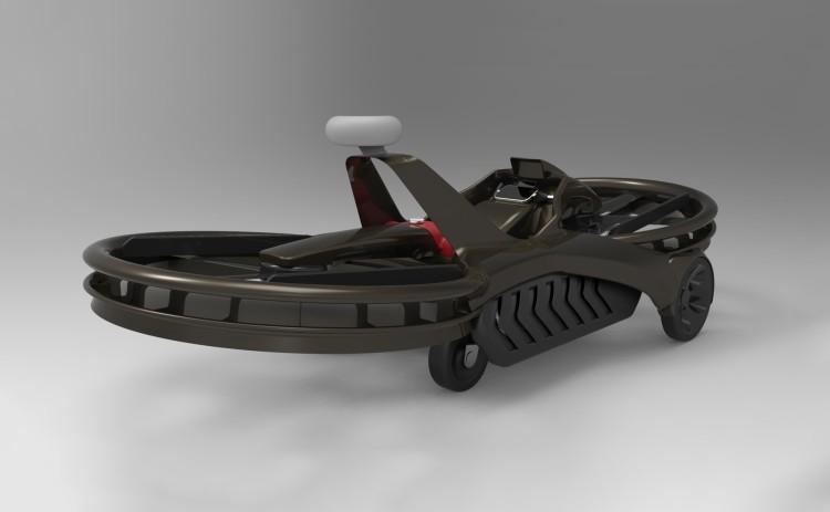 Летающий мотоцикл делают для армии США - 9
