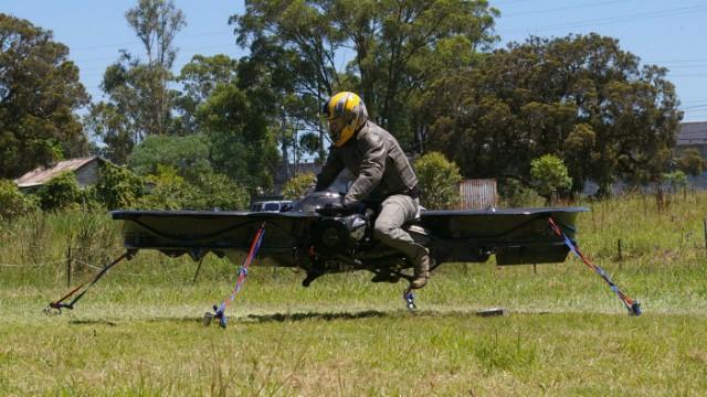 Летающий мотоцикл делают для армии США - 1