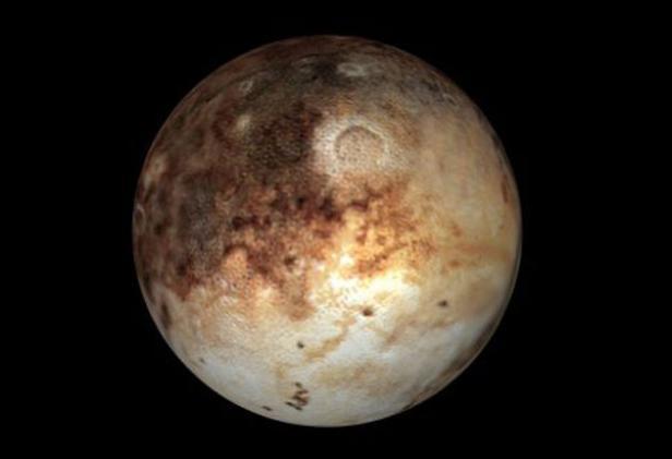 Новое видео Плутона и Харона от NASA - 1