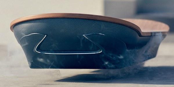 Парящая доска от Lexus, как и прототипы от других компаний, нуждается в металлической поверхности