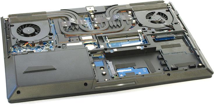 В ноутбуке Eurocom P5 Pro используется настольный процессор с возможностью замены
