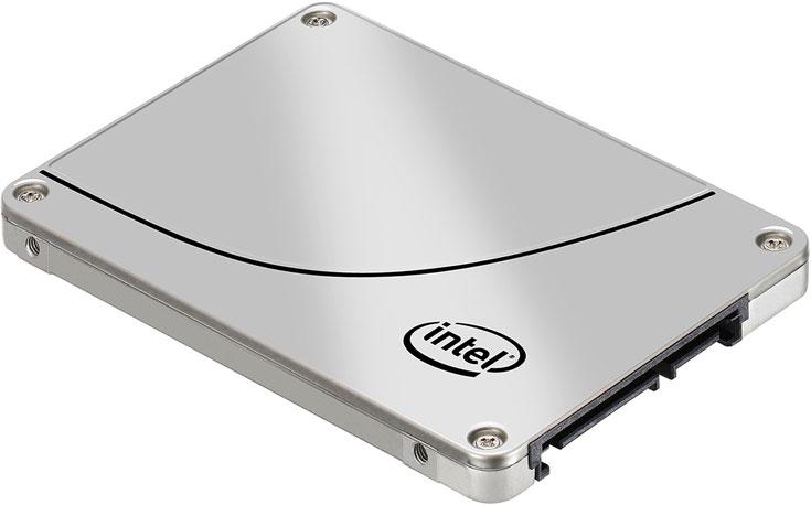 Intel занимает 8,9% рынка SSD, но быстро наращивает поставки