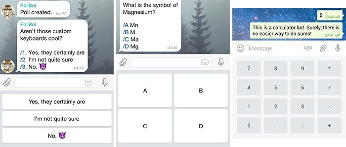Telegram открыл платформу для ботов - 4