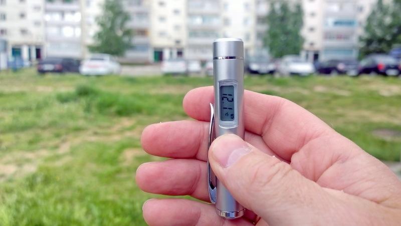 Дуть или не дуть, и другие опыты с инфракрасным термометром - 8