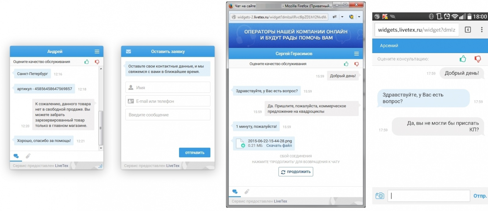 Онлайн-консультанты — обзор ТОП-сервисов: RedHelper, Livetex, Jivosite, Onicon - 7