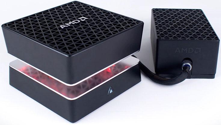 Компьютеры AMD Project Quantum будут предложены как на процессорах Intel, так и на процессорах AMD