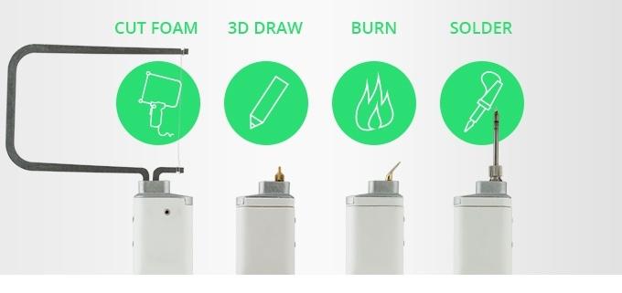 3DSimo Mini: больше чем 3D ручка. Режет, паяет, выжигает - 1