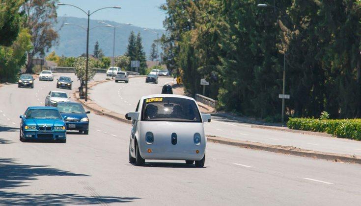 Google выпустила на дороги Маунтин-Вью первые прототипы автономных автомобилей - 1