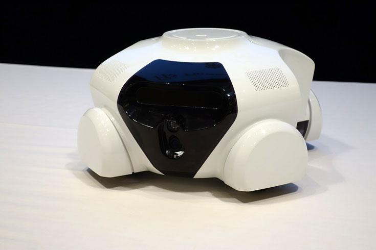 Японская компания Flower Robotics показала прототип домашнего робота Patin