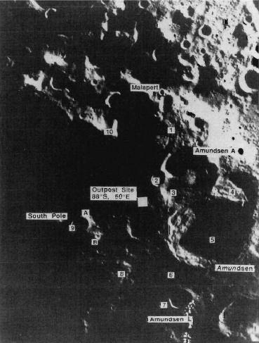 Интересные лунные места и задачи - 14