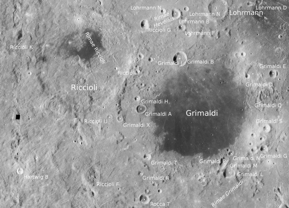 Интересные лунные места и задачи - 17