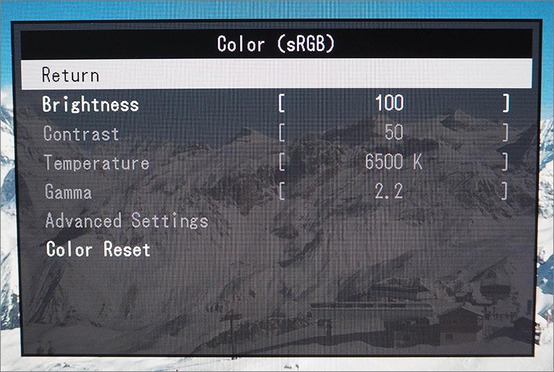 Обзор монитора EIZO FlexScan EV2436WFS-GY - 13