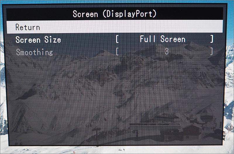 Обзор монитора EIZO FlexScan EV2436WFS-GY - 14