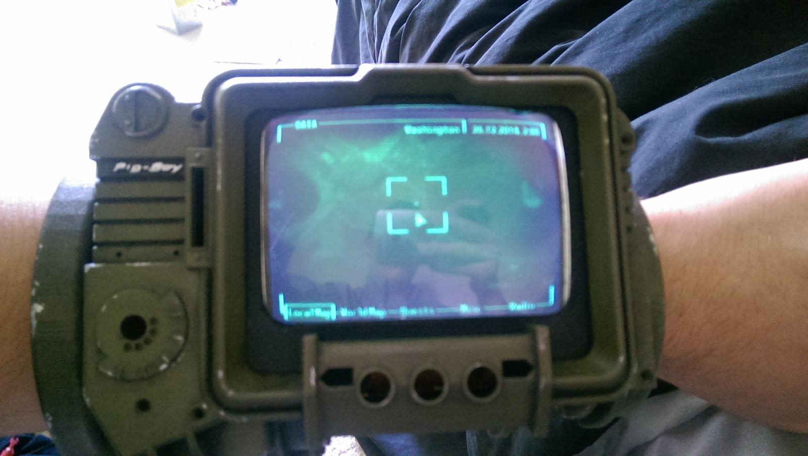 PipBoy из Fallout 3 на Raspberry Pi - 11