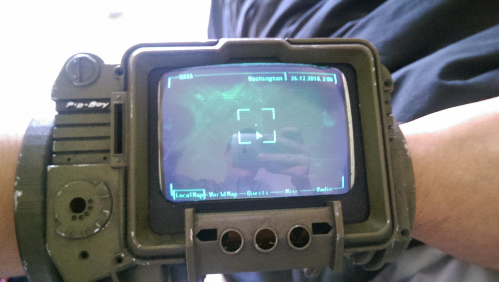 PipBoy из Fallout 3 на Raspberry Pi - 12