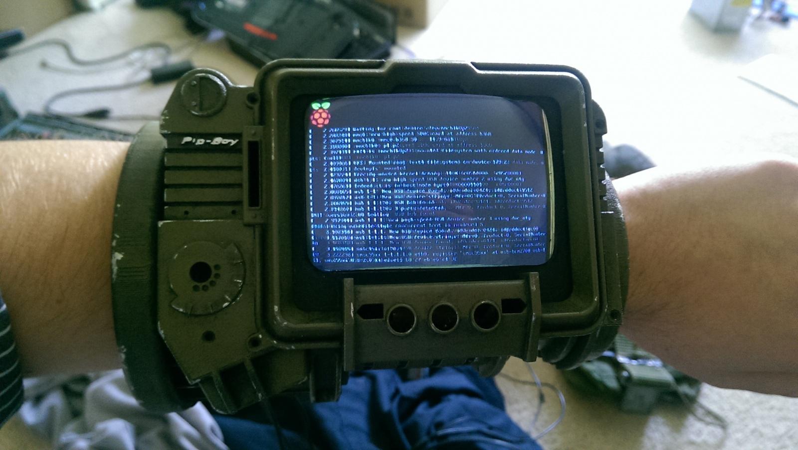 PipBoy из Fallout 3 на Raspberry Pi - 7