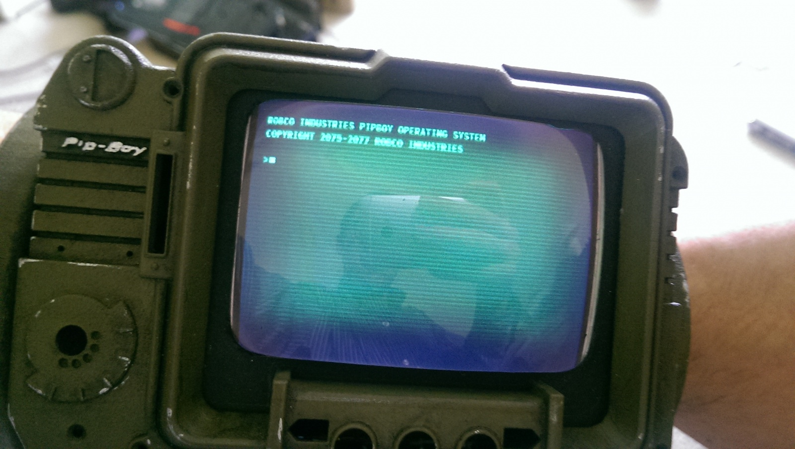 PipBoy из Fallout 3 на Raspberry Pi - 8