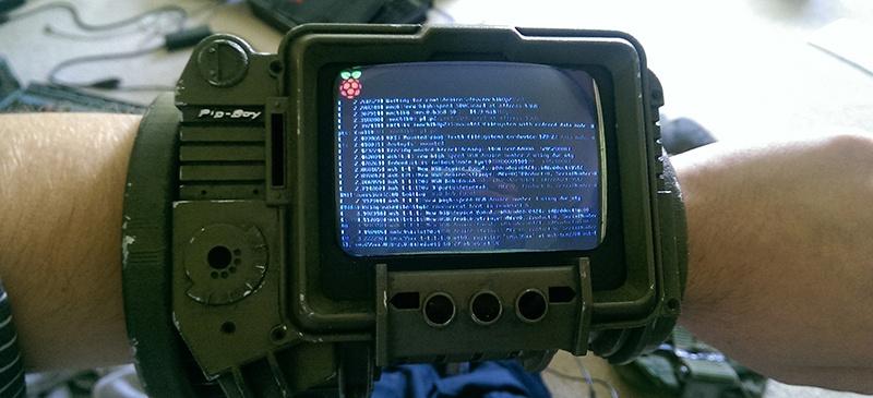 PipBoy из Fallout 3 на Raspberry Pi - 1