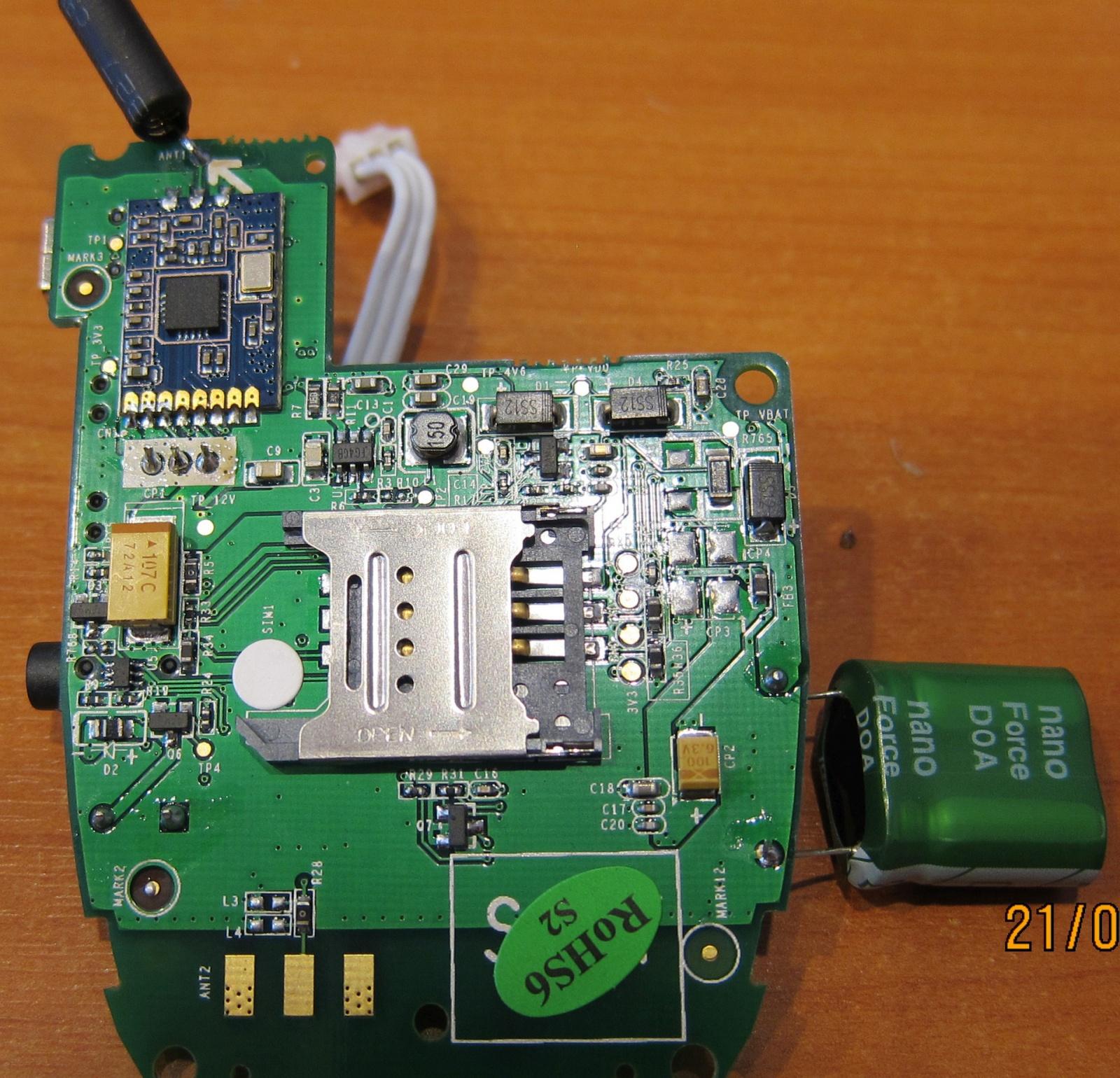 Обзор GSM розетки Senseit GS2 M - 12