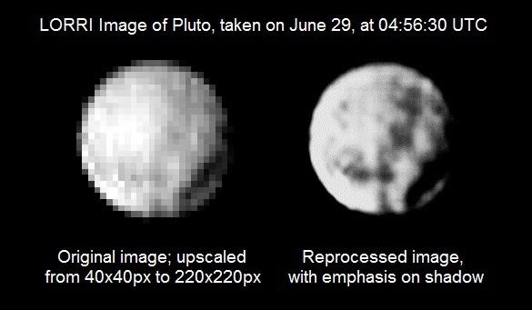Новости Плутона: метан, новые фото и огромный кратер - 3