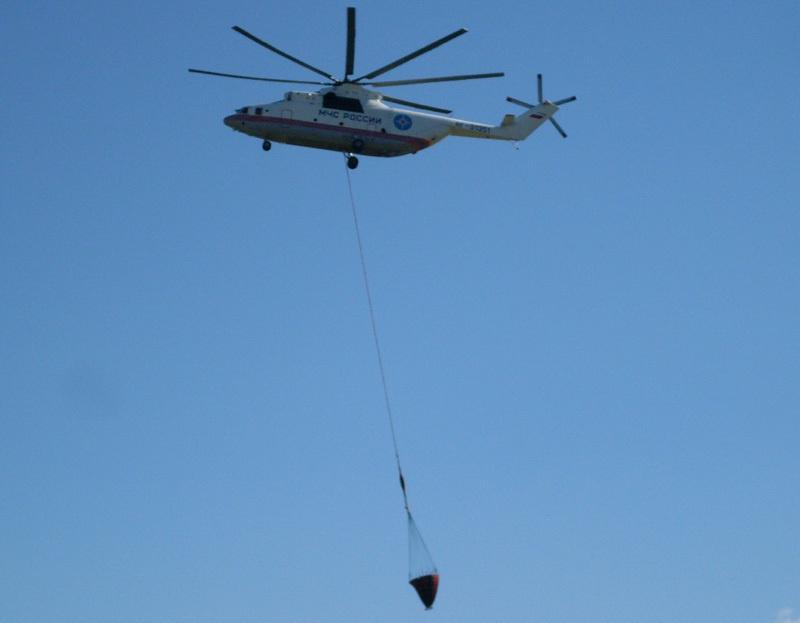 Вертолётные системы для тушения лесных пожаров - 1