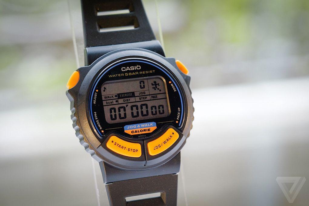 Назад в будущее. Умные часы от Casio из 90-х - 4