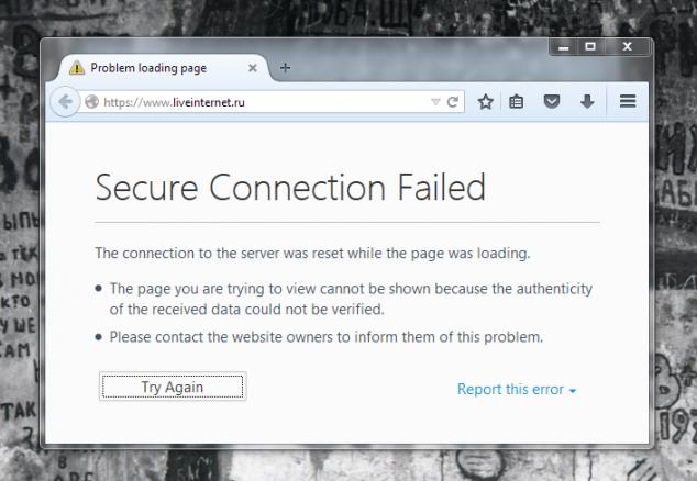 Провайдеры забанили liveinternet-у https трафик?