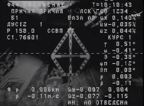 «Прогресс» успешно доставил груз на МКС - 1