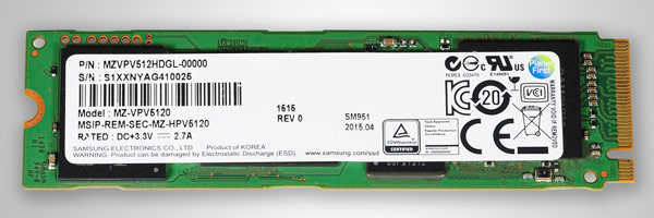 Samsung SSD NVM