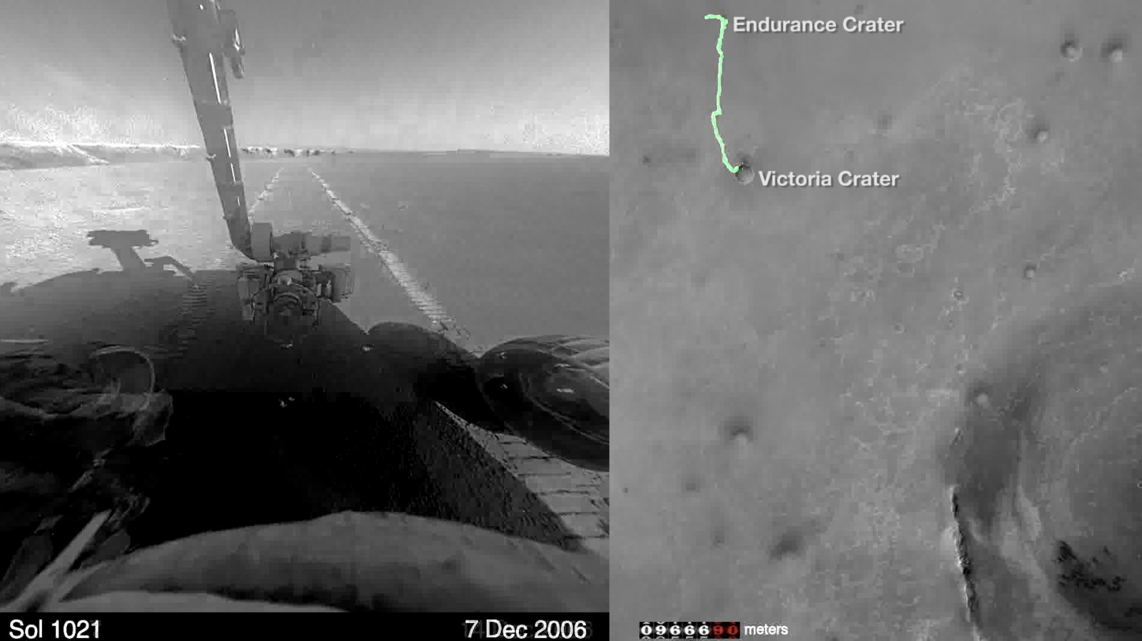 11 лет путешествий марсохода Opportunity за 8 минут: видео от NASA - 1