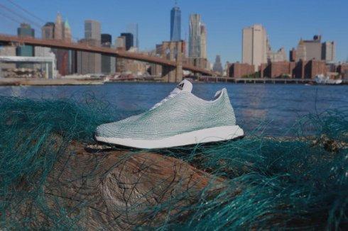 Adidas выпустила кроссовки из мусора