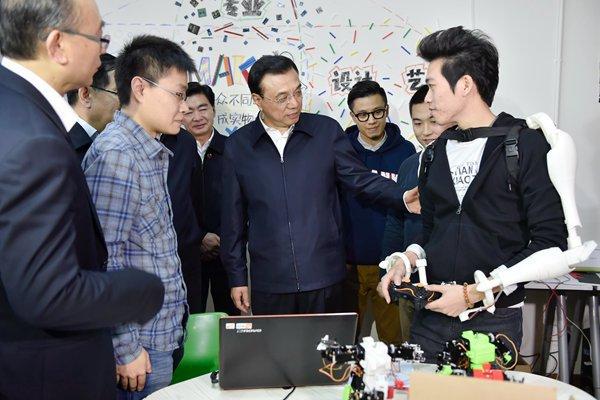 Хакспейсы набирают обороты в Китае. Премьер-министр Китая посетил хакспейс в Шэньчжэне - 1
