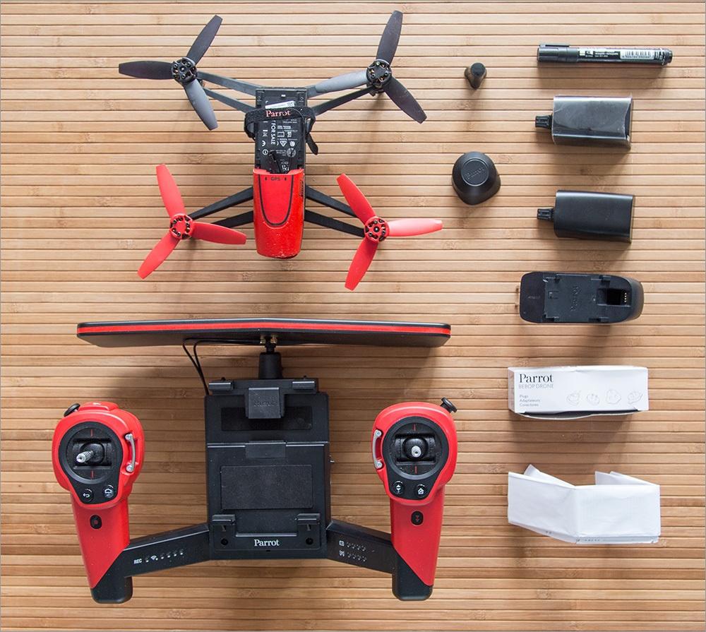 Игрушка для взрослых детей – обзор Parrot Bebop Drone - 2