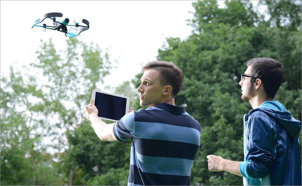Игрушка для взрослых детей – обзор Parrot Bebop Drone - 7