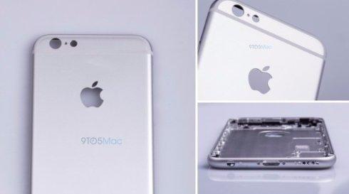 Первые фото iPhone 6s