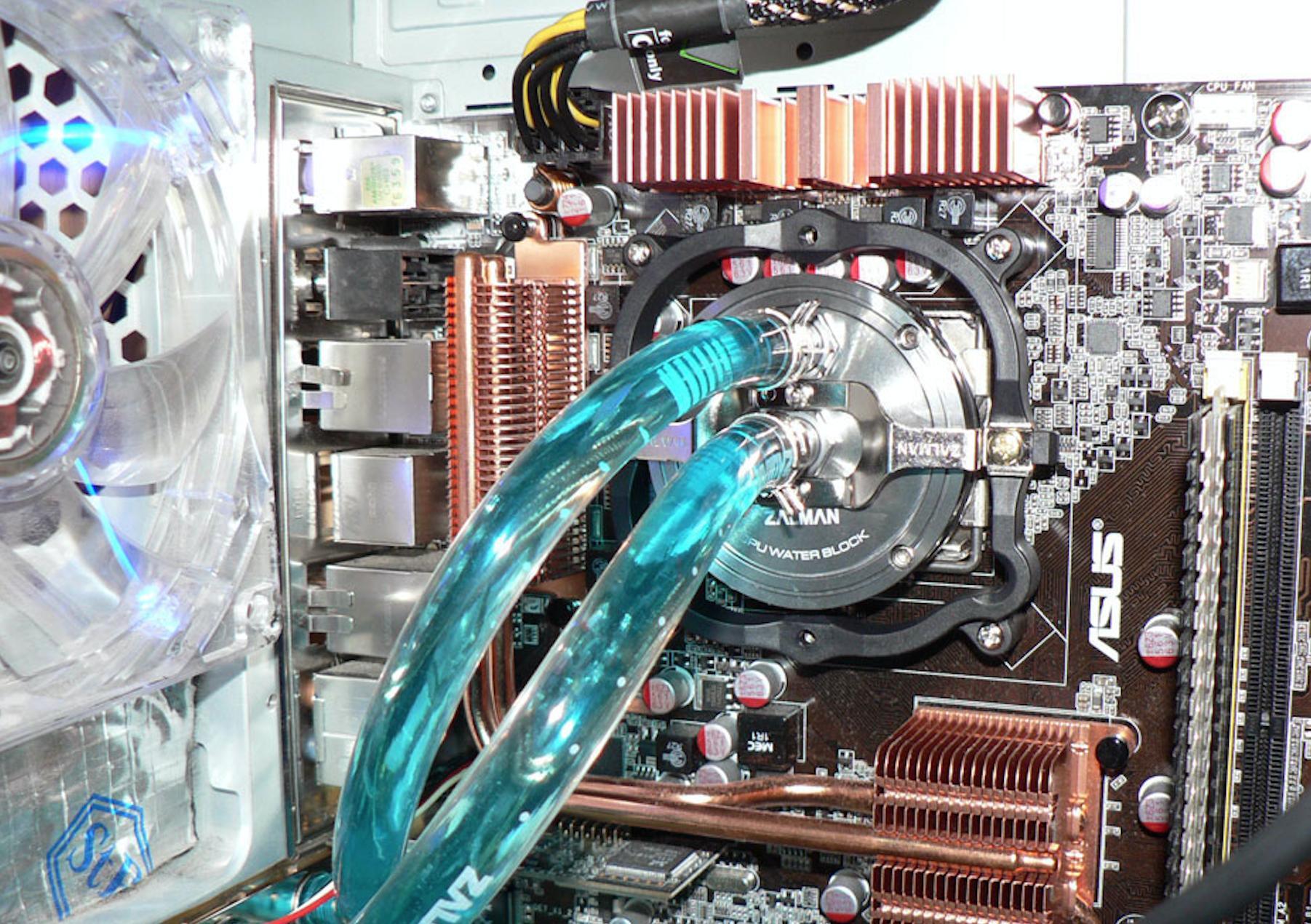 Система охлаждения компьютера - 7