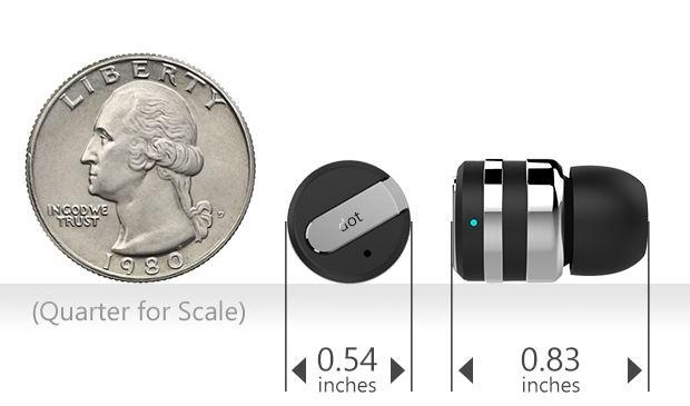 Dot: cамая маленькая в мире Bluetooth-гарнитура - 3