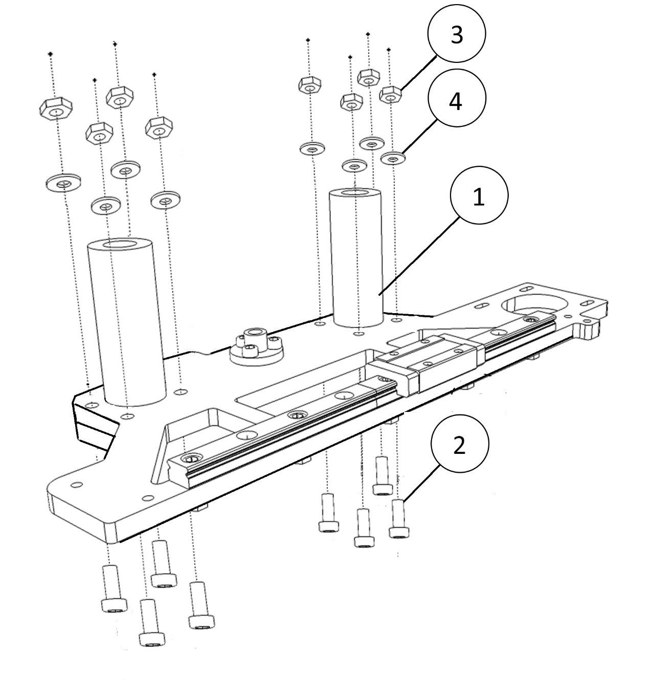 Инструкция по сборке 3D принтера Prism Uni(часть 1-механика) - 3