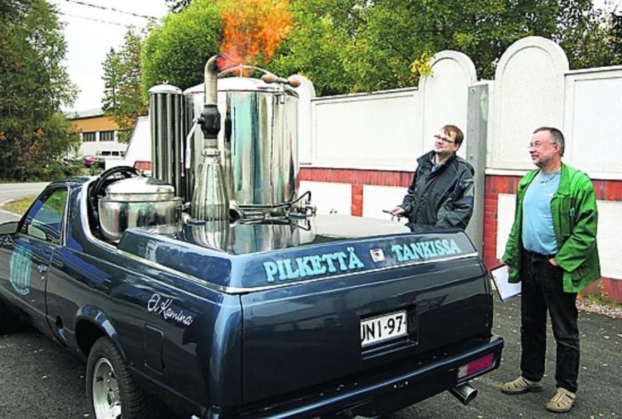Машина на дровах: расход, пробег, запуск, фильтрация, октановое число газа, влияние на двигатель - 6